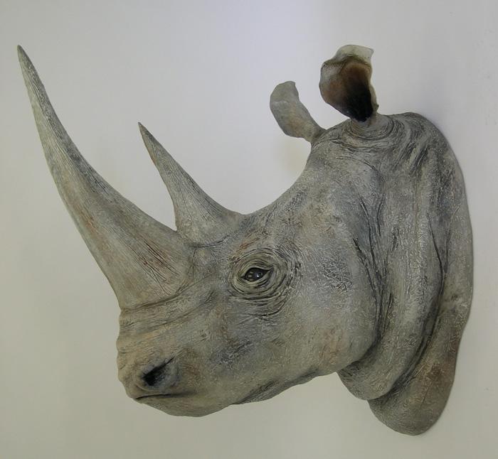 Ed Koehler Designs White Rhino Heads