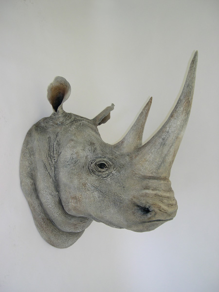 Ed Koehler Designs White Rhino Heads