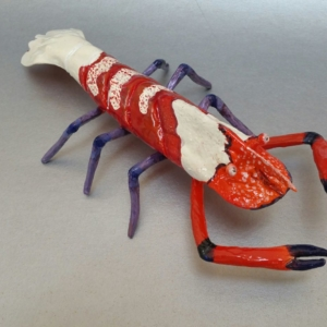 Colemans Shrimp Sculpture