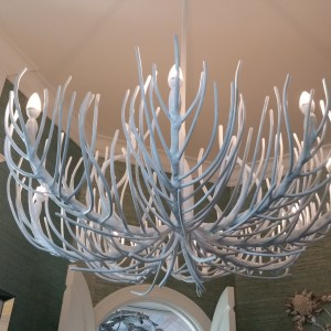 Coral Ceiling Light Fixture