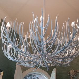 White Coral Ceiling Light Fixture