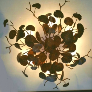 Sea Grape Ceiling Light Fixture