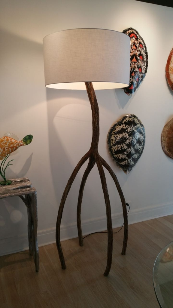 Turtle Floor Lamp