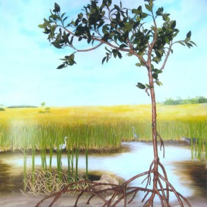Mangrove Tree Sculpture