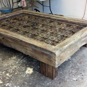 Old Doors Coffee Table