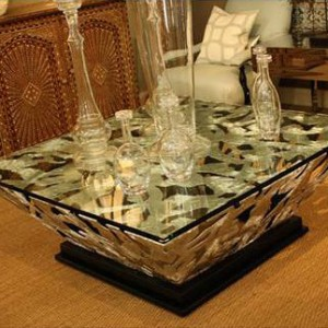 Steel Diamond Coffee Table