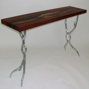Brazilian Rosewood Mercury Table