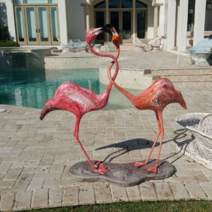 Decorative Arts Flamingos