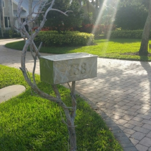 Decorative Arts Mailbox