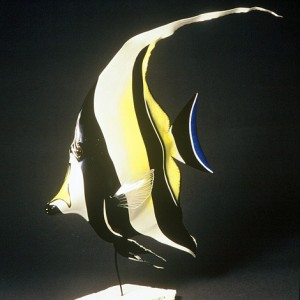 Moorish Idol Sculpture [approx. 16in]