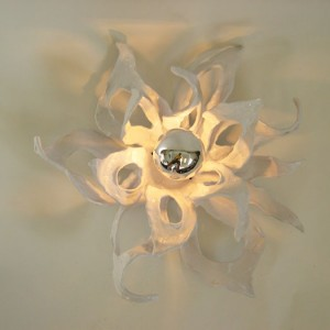 White Sea Kelp Ceiling Light Fixture