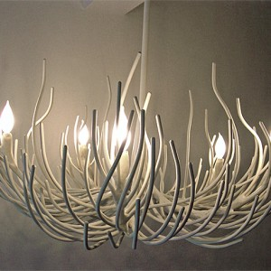 Coral Chandelier Light Fixture