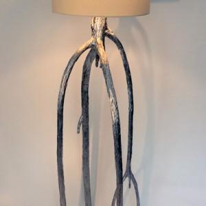 Silver Mangrove Floor Lamp