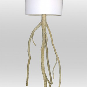 Blonde Mangrove Floor Lamp [7 feet]