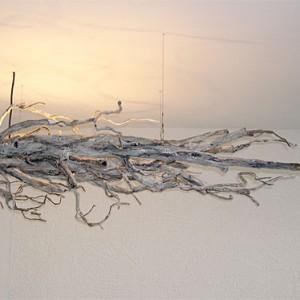 Driftwood Ceiling Light Fixture