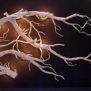 White Branch Sconce