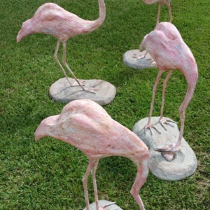 Flamingo Sculptures